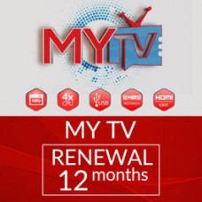 12 MONTHS MYTV SUBSCRIPTION RENEWAL   ($50 Off  Until December 2018)