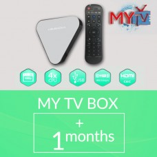 MYTV TV BOX WITH 1 MONTH SUBSCRIPTION