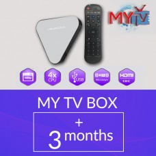 MYTV TV BOX WITH 3 MONTHS SUBSCRIPTION